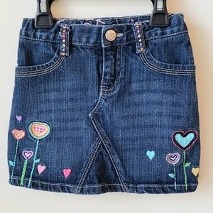 Gap toddler denim skirt 3t
